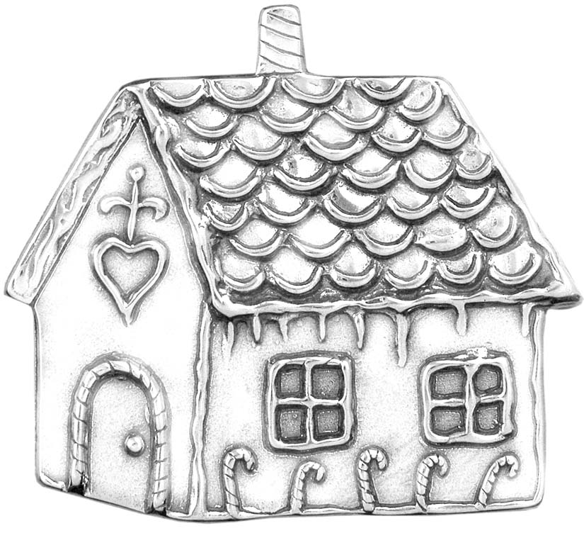 how to make a gingerbread house drawing